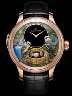Jacquet Droz Bird Repeater ... the art work is beautiful, but NOT on a watch.