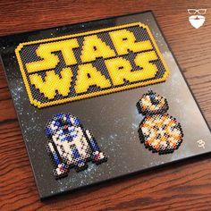 Star Wars perler bead art by Pierce Pop Art
