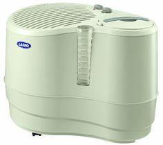 Lasko 1128 Evaporative Recirculating Humidifier, 9-Gallon #lasko #home