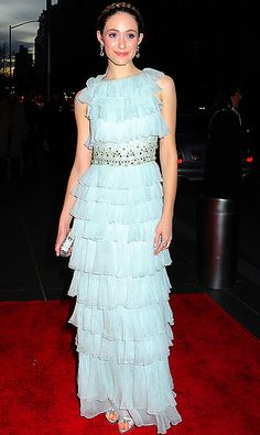 """Emmy Rossum in Christian Dior at the 6th Annual New Yorkers For Children"""" dinner, April 2009"""