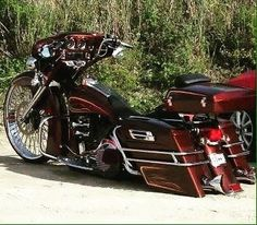 """73 Likes, 1 Comments - Haywire (@my14rk) on Instagram: """"Bagger #motorcycles"""""""