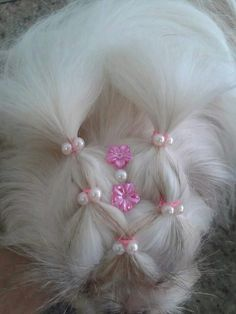 -Repinned-Top knot bling.