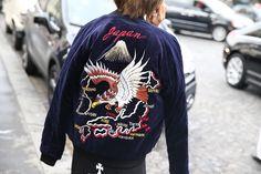 Veste Isabel Marant http://www.vogue.fr/defiles/street-looks/diaporama/street-looks-a-la-fashion-week-printemps-ete-2014-de-paris-jour-5/15473/image/859424