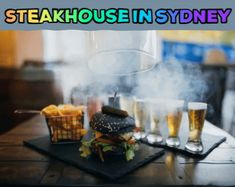 We are one of the best bar and grill steakhouse restaurants in Surry Hills, Rushcutters Bay, Potts Point, Darlinghurst, Sydney. We offer top quality & tasty steak. Best Craft Beers, Surry Hills, Best Steak, Cool Bars, Fine Wine, Sydney Australia, Steaks, Wines, Grilling