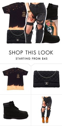 010c28dbcd3 by glowithbria ❤ liked on Polyvore featuring Chanel and Timberland  Timberland