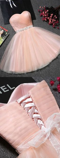 Cute Sweetheart Neck Backless Pink Short Prom Dresses, Backless Pink Homecoming Dresses, Pink Formal Evening Graduation Dresses Source by abcpromdress prom dresses short Backless Homecoming Dresses, Cute Prom Dresses, Prom Dresses 2018, Pretty Dresses, Formal Dresses, Quinceanera Dresses Short, 15 Anos Dresses, Blush Pink Wedding Dress, Pink Dress