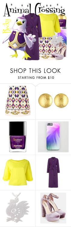 """Becky from Animal Crossing (Dressed Down)"" by imanirine ❤ liked on Polyvore featuring VIVETTA, Oscar de la Renta, Tsumori Chisato, NOVICA and JustFab"