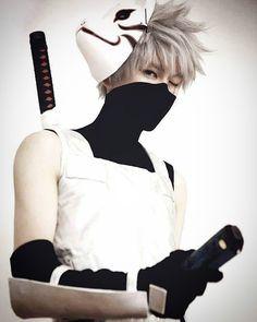Naruto cosplay- Kakashi