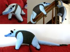 Tamandua Plushie by ~soyrwoo on deviantART