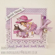 LOTV - Just for Girls Art Pad with Bonnets and Bowties and Promises (Solids) Paper pads by DT Andrea