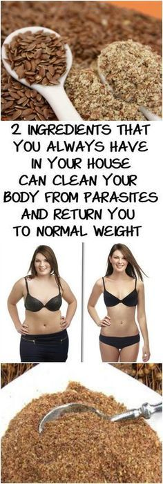 2 INGREDIENTS THAT YOU ALWAYS HAVE IN YOUR HOUSE CAN CLEAN YOUR BODY FROM PARASITES AND RETURN YOU TO NORMAL WEIGHT