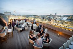 Sky High: The Best Rooftop Bars To Soak Up The Long Summer Nights #Refinery29