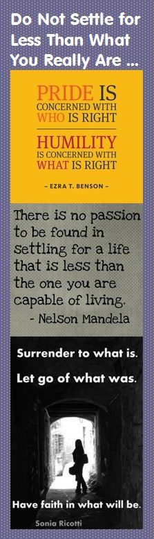 There is no passion to be found in settling for a life that is less than the one you are capable of living. — Nelson Mandela