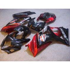 Suzuki GSX-R 1000 2007-2008 K7 Injection ABS Fairing - Others - Red/Black   $659.00