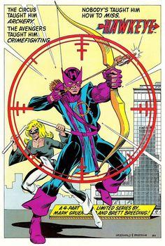 Marvel Comics of the 1980s: 1983 - Hawkeye