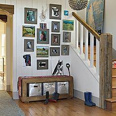 Entryway Idea  Marmont Pendant #serenaandlily