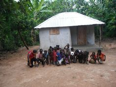 A Village in Haiti Shows Support by Tebowing
