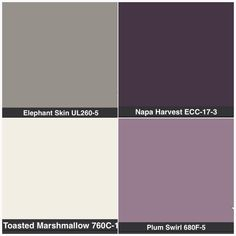 Possible colour palette for living room
