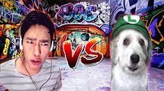 Rap Fernanfloo vs Curly | Batalla épica el rap de curly - YouTube