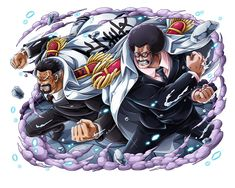 Garp & Sengoku - One Piece One Piece Manga, One Piece Series, One Piece Chapter, Zoro One Piece, One Piece World, One Piece Ace, Sengoku One Piece, Fallout Funny, One Piece Photos