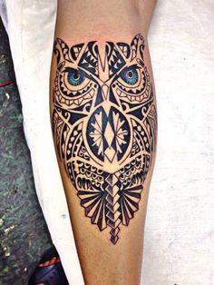 Resultado de imagem para tatuagem coruja