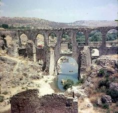 / Roman aqueduct at Paradise, Smyrna. Lord Byron, Brooklyn Bridge, Grand Canyon, Taj Mahal, Around The Worlds, In This Moment, Explore, City, Travel