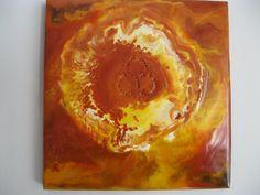 Sunburst 2 by EncausticsEtc on Etsy, $25.00
