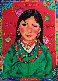 jeune tibétaine