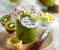 Stachelbeer-Kiwi-Mango-Konfitüre