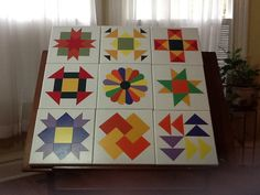 These are all 1x1 and pictured as a quilt sampler. You may also select any…