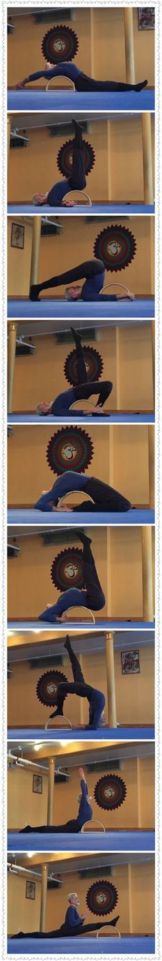 Dharma Yoga Wheel Presents the Half Wheel - https://www.youtube.com/watch?v=47_nNsRQUNk