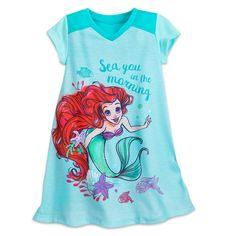 Ariel Nightshirt for Girls. Disney NightgownsGirls PajamasDisney ... 531b82f47