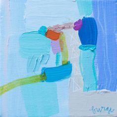 """My Teepee, Your Teepee I"" 6×6 gallery wrap"