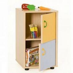 Mueble escolar bajo armario 2 puertas