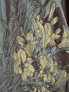 Woman's Opera Coat, fabric detail. House of Worth, 1910-1911