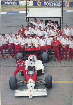 Ayrton Senna McLaren 1989:
