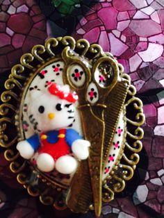 Camafeo kity porcelana fría