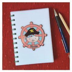 cuaderno diseño pirata