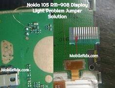 Nokia 105 Display Light Ways LCD Light Jumper Solution Nokia 105 Display Light Ways connection line paths in the case you are going to troubleshoot Iphone Unlock Code, Unlock Iphone Free, Iphone Repair, Mobile Phone Repair, Nokia 230, Android Tutorials, Electronic Schematics, All Mobile Phones, Diy Electronics