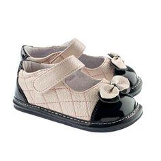 Pat. toe pink & black (266)   Jack & Lily Shoes
