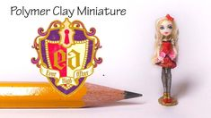 Hey guys! On my polymer clay monster high doll a lot of you asked for something 'ever after high' related :) So today's tutorial is for Apple White. This is ...