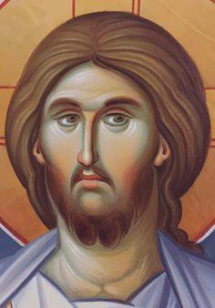 Holy Quotes, Byzantine Icons, Son Of God, Orthodox Icons, Jesus Christ, Savior, Hair Designs, Holy Spirit, Christianity