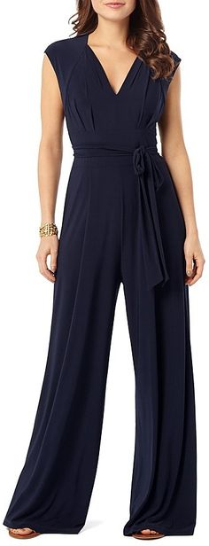Phase Eight Penn Belted Jersey Jumpsuit