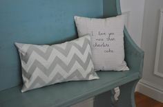 Chic pillows made by @Cheri Heaton out of @HGTV HOME fabric!