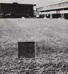 JAN DIBBETS, Perspective Correction, 1969 | 22. Tutta la sua opera palesa la convenzione della prospettiva per metterla a nudo e celebrarne la natura al contempo concettuale e fisica.