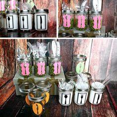 Cute way to display silverware! Print them?