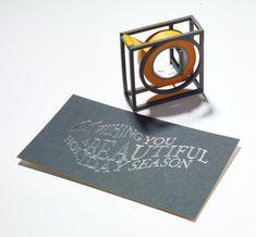 "A 3D Printed ""Indispensable Tape Dispenser"" - Design Milk"