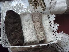 Una nostra composizione di lavette!