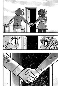 Final scene, Ramona Flowers & Scott Pilgrim [comics]