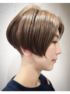 Asian Short Hair, Bob Hairstyles, Short Hair Styles, Hair Cuts, Hair Color, Hair Beauty, Of Hair, Bobs, Shorts